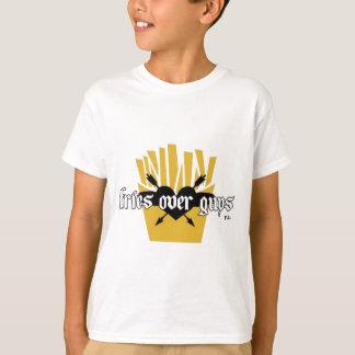 Fries Over Guys Slogan T-Shirt