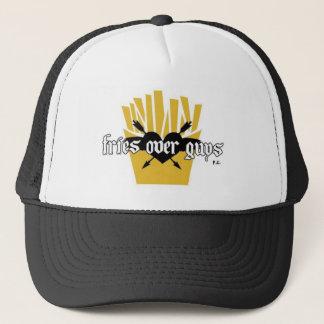 Fries Over Guys Slogan Trucker Hat