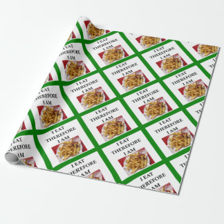 fries wrapping paper