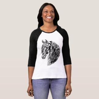 Friesian 1 - ladies 3/4 sleeve canvas shirt