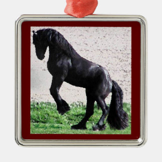 Friesian Colt Ornament