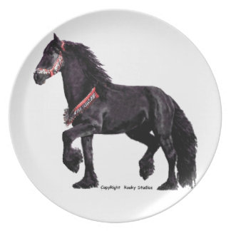 Friesian Dance Plate
