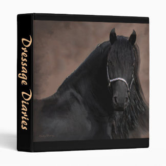 Friesian Flair 3 Ring Binder
