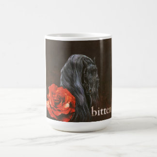 Friesian Horse Bitten mug