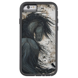 Friesian Horse By Bihrle iPhone 6 Case