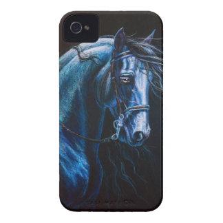 Friesian Horse iPhone 4 Cover