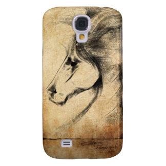 Friesian Horse Samsung Galaxy S4 Covers