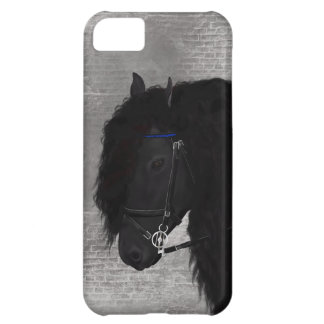 Friesian Horse Case For iPhone 5C