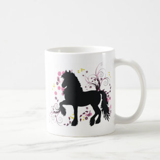 Friesian Horse Coffee Mug
