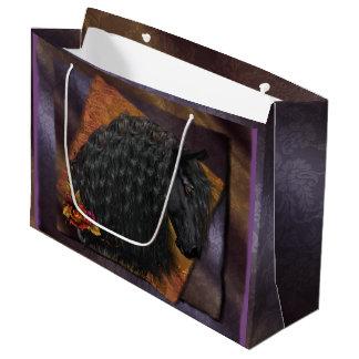 Friesian Horse Gift Bag - Large, Glossy