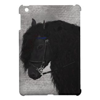 Friesian Horse iPad Mini Cover