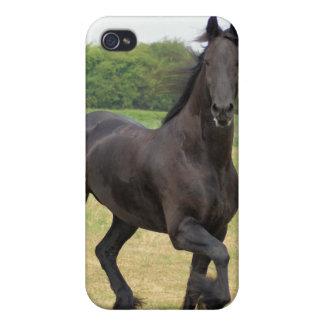 Friesian Horse iPhone 4 Case