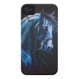 Friesian Horse iPhone 4 Cover