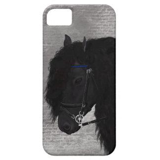Friesian Horse iPhone 5 Covers