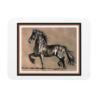 Friesian Horse Magnet