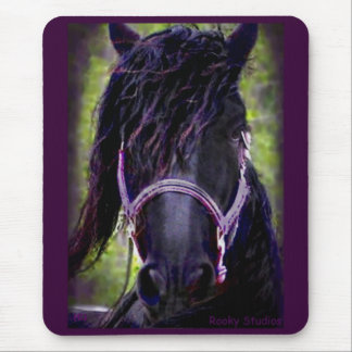 Friesian Horse Mousepad