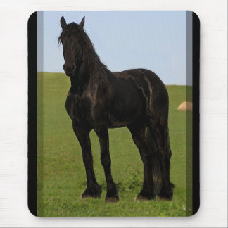 Friesian Horse Mousepad #9