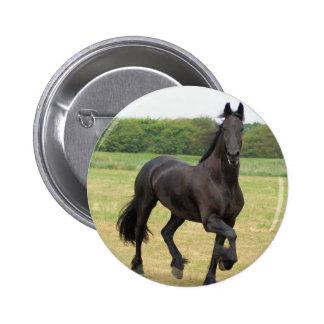 Friesian Horse Pin