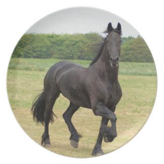 Friesian Horse Plate