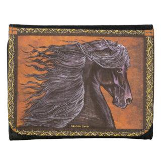 Friesian Horse Wallet