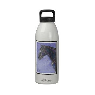 Friesian Horse Water Bottle