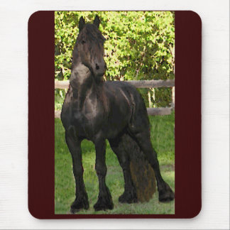 Friesian Painted Mousepad