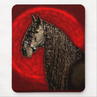 Friesian Portrait Mouse Pad