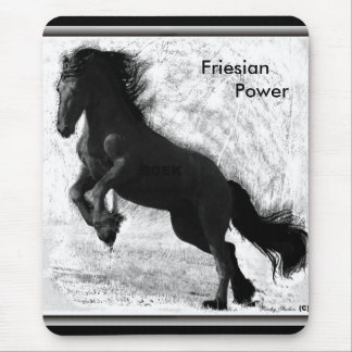 Friesian Power Mousepad 2