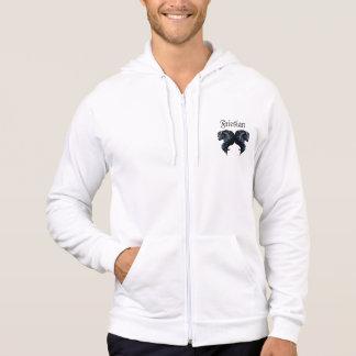 Friesian stallion horse, the black beauty hoodies