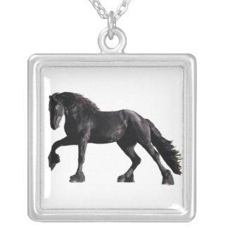 Friesian Stallion Necklace