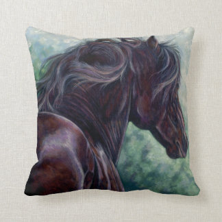 Friesian Stallion Pillow