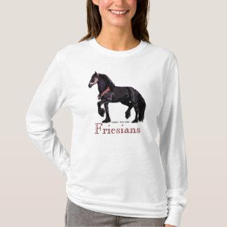 'Friesians' Horse Tees #1
