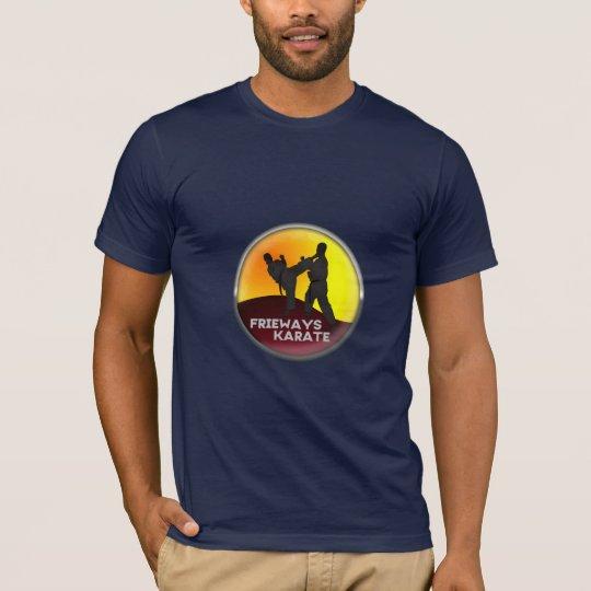 Frieways karate T-shirt of men blue