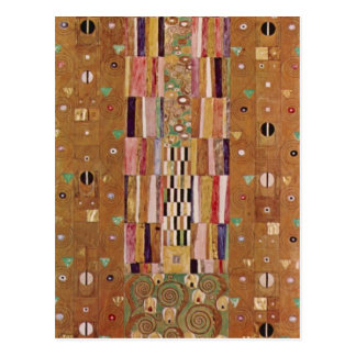 Frieze by Gustav Klimt Postcard