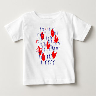 frieze country skating baby T-Shirt