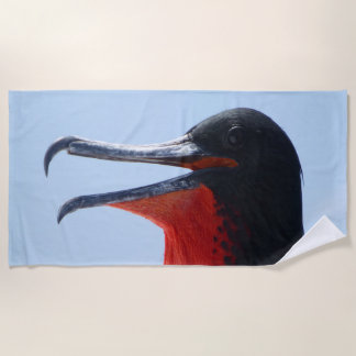 Frigate Bird Beach Towel