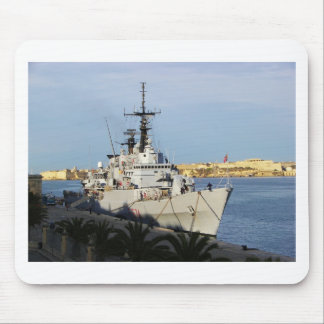 Frigate in Malta. Mouse Pad