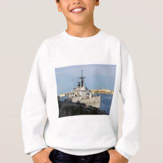 Frigate in Malta. Sweatshirt