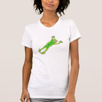 Friggin froggy w/text on back T-Shirt