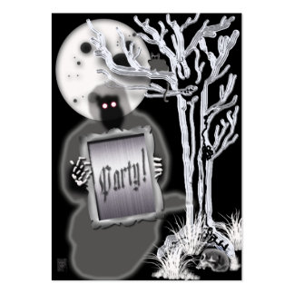 fright function large business card