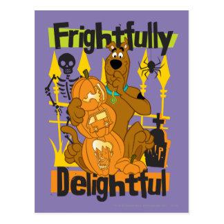 Frightfully Delightful Postcard