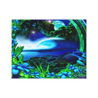 Frigid Glass limited edition Canvas Print