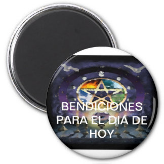Frigo-Pin Of the Luck Collection Wicca Blessing Magnet