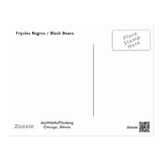 Frijoles Negros / Black Beans Postcard
