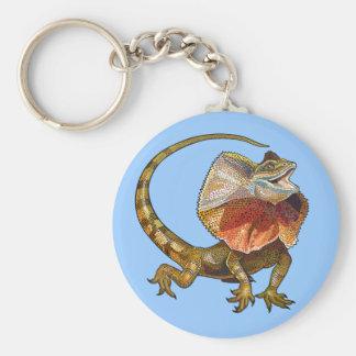 frill necked lizard keychain