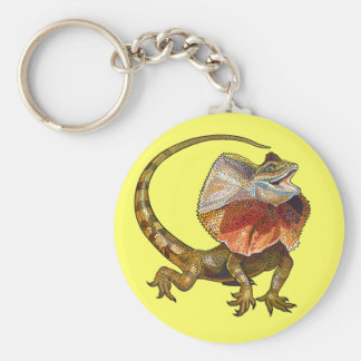 frill necked lizard keychains