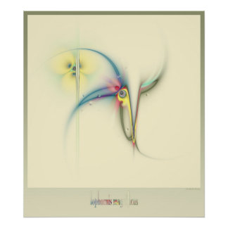 frilled coquette poster