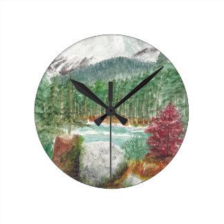 Frillensee Bavaria Round Clock