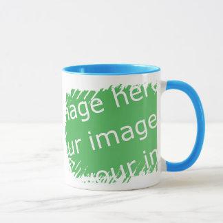Fringe Border Design - 2-sided Mug