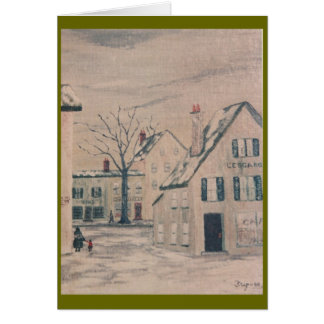 Frip French Town Card